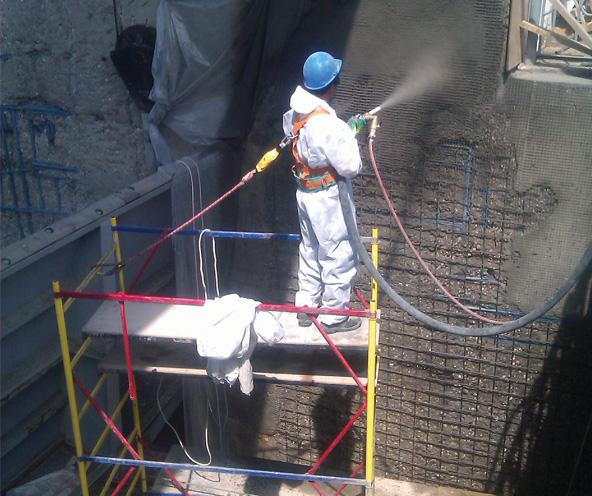 Применение композитов при ремонте Можайской плотины (АО «Мосводоканал»)